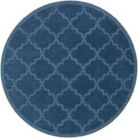 Artistic Weavers Central Park Abbey 6-Foot Round Area Rug in Blue
