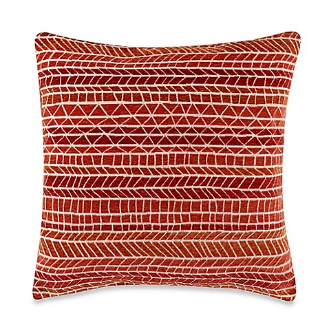 Candela Coral 20-Inch Square Throw Pillow - Bed Bath & Beyond