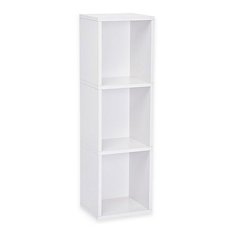 Way Basics White Storage Cube