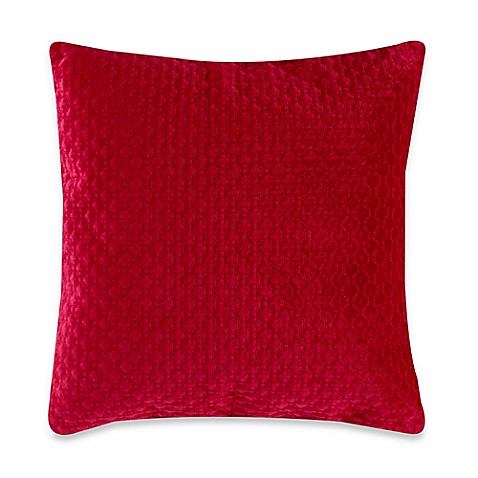 20 Inch Square Decorative Pillows : Buy Nika 20-Inch Square Throw Pillow in Red from Bed Bath & Beyond