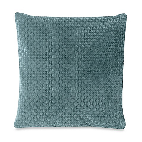 Buy Nika 20-Inch Square Throw Pillow in Teal from Bed Bath & Beyond