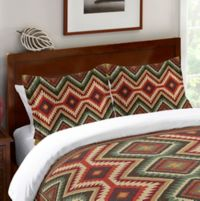 Laural Home® Country Mood Navajo Twin Comforter in Red