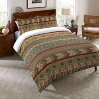 Laural Home® Country Mood Sage Queen Comforter in Green