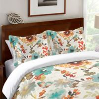 Laural Home® Nature's Palette Standard Pillow Sham in Ivory