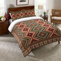 Laural Home® Country Mood Navajo Standard Pillow Sham in Red