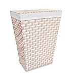 Lamont Home™ Carly Hamper in White/Linen