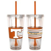 University of Tennessee Double Wall Hype 22 oz. Tumbler with Lid & Straw