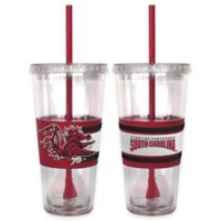 USC Double Wall Hype 22 oz. Tumbler with Lid & Straw