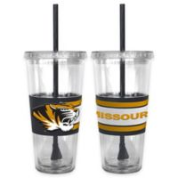 University of Missouri Double Wall Hype 22 oz. Tumbler with Lid & Straw