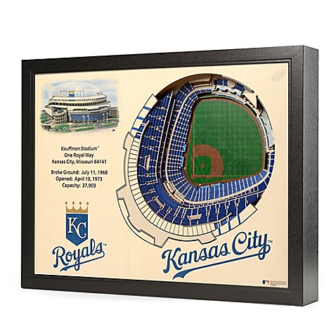 Mlb kansas city royals stadium views wall art bed bath for Craft stores in kansas city
