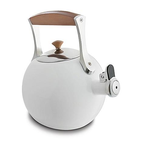 how to clean burnt enamel tea kettle