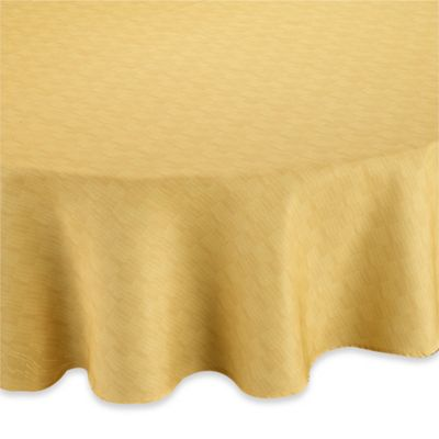 Mason 60 Inch X 120 Inch Umbrella Tablecloth In Yellow