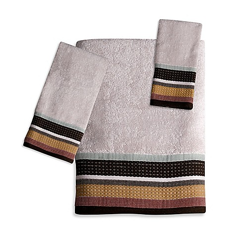 Jessen Stripe Bath Towel Collection Bed Bath Amp Beyond