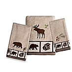 Nature's Trail Hand Towel in Amber