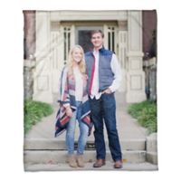 Plush Fleece Photo Throw Blanket