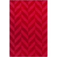 Artistic Weavers Central Park Carrie 6-Foot x 8-Foot Area Rug in Red