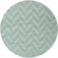 Artistic Weavers Central Park Carrie 7-Foot 9-Inch Round Area Rug in Teal