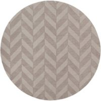 Artistic Weavers Central Park Carrie 7-Foot 9-Inch Round Area Rug in Grey