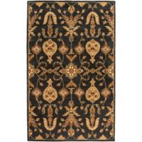 Artistic Weavers Middleton Grace 4-Foot x 6-Foot Area Rug in Black