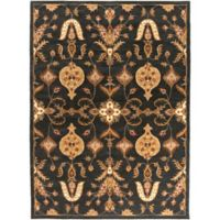 Artistic Weavers Middleton Grace 7-Foot 6-Inch x 9-Foot 6-Inch Area Rug in Black