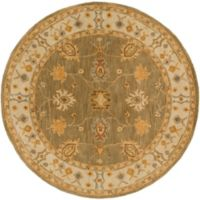 Artistic Weavers Middleton Willow 6-Foot Round Area Rug in Sage/Ivory