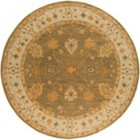 Artistic Weavers Middleton Willow 8-Foot Round Area Rug in Sage/Ivory