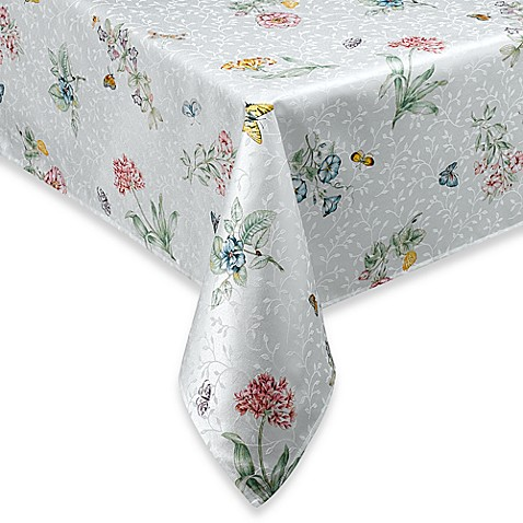 Buy Lenox 174 Butterfly Meadow 174 52 Inch X 70 Inch Tablecloth