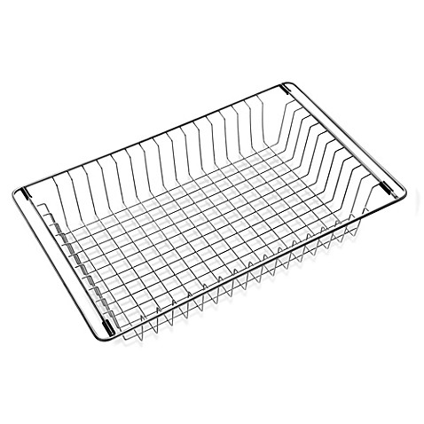 Houzer Wirecraft WT 3500 Over The Sink Stainless Steel Wire Tray