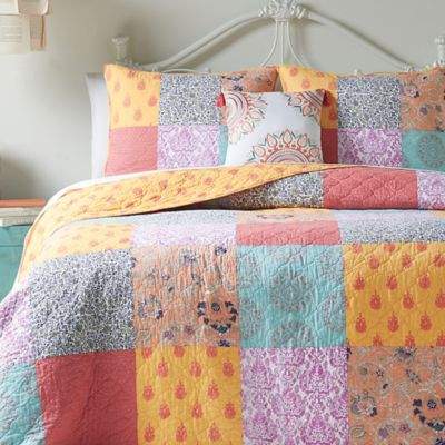 Buy Orange and Blue Quilts from Bed Bath & Beyond : blue and orange quilt - Adamdwight.com