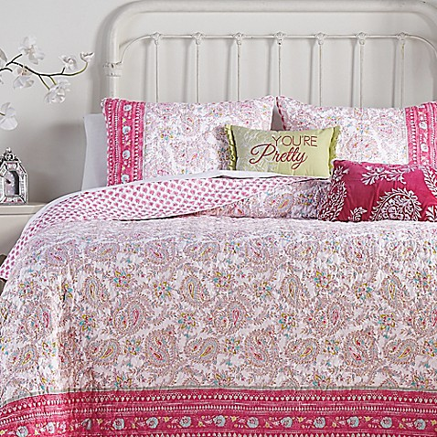 Jessica Simpson Noni Reversible Quilt Collection Bed Bath Beyond