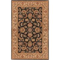 Artistic Weavers Middleton Virginia 4-Foot x 6-Foot Area Rug in Black/Beige