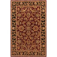 Artistic Weavers Middleton Virginia 4-Foot x 6-Foot Area Rug in Maroon/Black