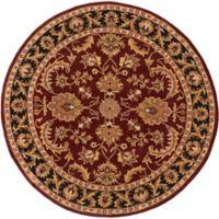 Artistic Weavers Middleton Virginia 8-Foot Round Area Rug in Maroon/Black