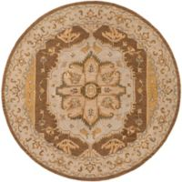 Artistic Weavers Middleton Mia 6-Foot Round Area Rug in Rust
