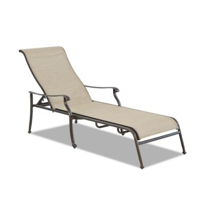 Buy sling chaise lounges from bed bath beyond for Bathroom chaise lounge