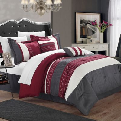 Buy Burgundy Comforter From Bed Bath Amp Beyond