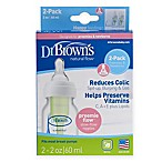 Dr. Brown's® Options™ Preemie 2-Pack 2 oz. Bottles