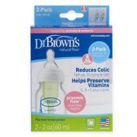 Dr. Brown's® Options™ Preemie 2-Pack 2 oz. Bottles