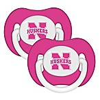 NCAA University of Nebraska 2-Pack Pacifiers