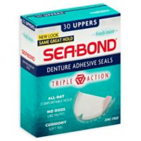 Sea-Bond® 30-Count Uppers Denture Adhesive Seals in Fresh Mint