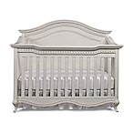 Bel Amore Lyla Rose 4-in-1 Convertible Crib in White Willow