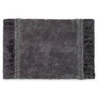Avanti Braided Medallion Bath Rug in Granite