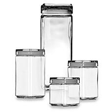 Anchor Hocking Stackable Square Canisters