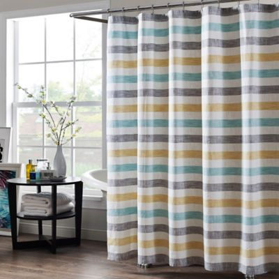 Greta 72 Inch x 84 Inch Extra Long Shower CurtainBuy 72 x 84 Shower Curtain from Bed Bath   Beyond. Yellow And Teal Shower Curtain. Home Design Ideas