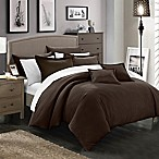 Chic Home Kanya 7-Piece King Comforter Set in Brown