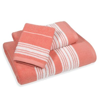 Buy Coral Bath Towels From Bed Bath Amp Beyond