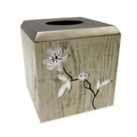 Croscill® Magnolia Floral Tissue Box Cover