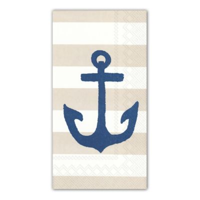 16 Count 3 Ply Yacht Club Paper Guest Towels. Buy Disposable Guest Towels for Bathroom from Bed Bath  amp  Beyond