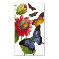 6-Count Butterfly Print 3-Ply Paper Guest Towels