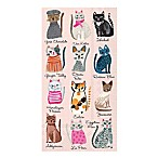 16-Count Cool Cats 3-Play Paper Guest Towels